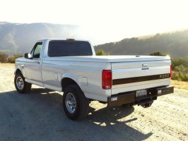 After 1997 Ford F250 Powerstroke 7.3 rear view by Partywave