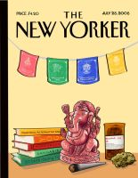 New Yorker Cover by kookybat