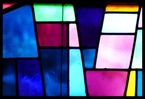 Stained Glass by sapphiretiger-stock