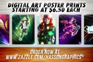 Digital Art Posters Ad by jhasson