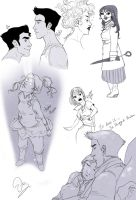 LINES korra and random by palnk