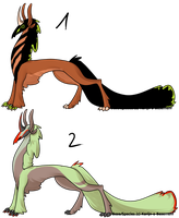 OPEN Sophydra adoptables by CaledonCat