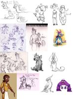 Sketchdump V by Frozenspots