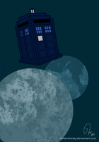 Tardis blue. by DeliaintheSky