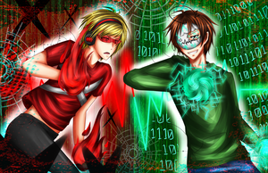 PewDieCry: Anti-Virus!PewDie vs Virus!Cry by PrincePhantom