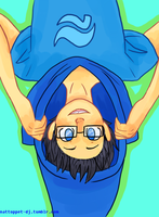 Upsidedownbert by BlueHeir413