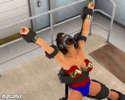 Wonder Woman Breath Control by thejpeger