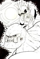 Kilowog and Tomar Re by ragelion