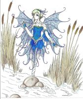 Freshwater Fairy by kitathehalfblood