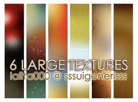 6 large textures by sssuigenerisss