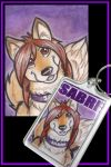 Sabre Keyring by shiverz