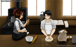 LeviHan - OTP Challenge - Cooking/Baking by The-Phisch