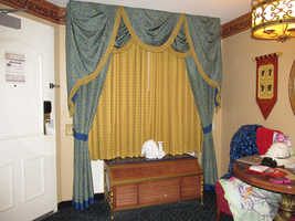 Resort Room Drapes 3 by WDWParksGal-Stock