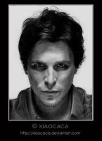 Christian Bale by xiaocaca by TraditionalArt