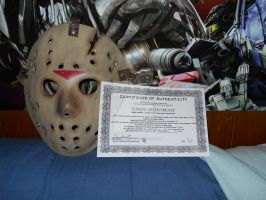 My Jason Mask number 6 part 1 by aohoshi2008