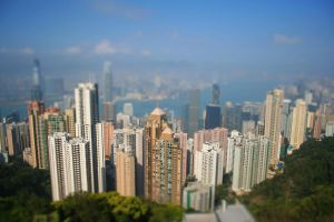 Hong Kong Tilt Shift by elfullero