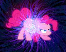 Pinkie Pie Creates the Universe wallpaper by Voodoo-Tiki