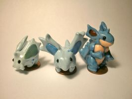 Nidoran (F) Evolutionary Family by ninjazzy