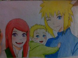 Uzumaki family by sonicelerizo