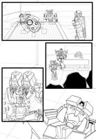 WIP Comic Page by ArwingPilot114