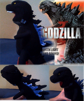 Godzilla 2014 chibi plush by ThrillerzillaArt