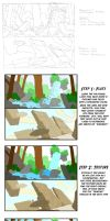 B7 Environment Study 4 Steps by Smitty-Tut