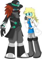 Dr. Y and Dr. Archer by UMSAuthorLava