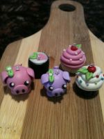 Cute Clay Charms by AmaiKyandii