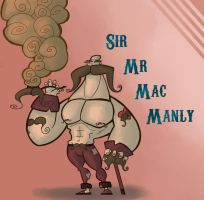 Sir Mr Mac Manly by Hugovrb