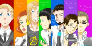 Avengers by MidoriLied