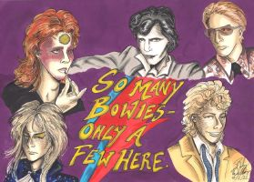 So many Bowies by cozywelton