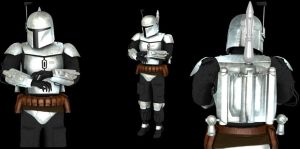 Boba Fett Model Rigged by ExoticcTofu
