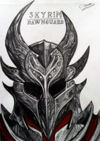 Skyrim: Dawnguard DLC IGN Fan Art by LethalChris