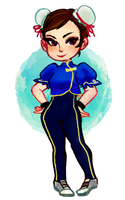chun li by akipunch