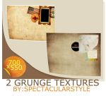 2 grunge textures by spectacularstyle