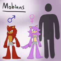 Race Profiles: The Mobians by TipsyRa1d3n