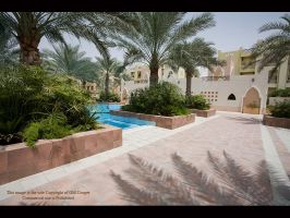 Pool area by GMCPhotographics