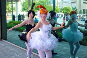 Otakon 2014 - Princesses of Dance(PS) 10 by VideoGameStupid