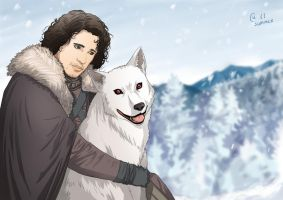 Jon Snow by Autumn-Sacura