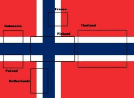 Norways secret flag code by MewMewItems