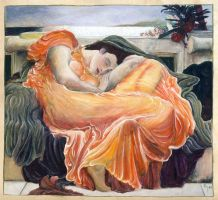 Flaming June by Lijah