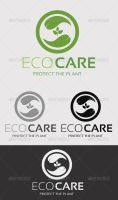 Eco Care Logo Template by ExtremeLogo