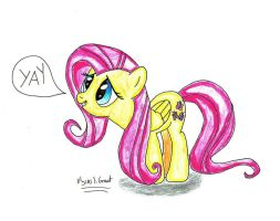 Fluttershy YAY by UlyssesGrant