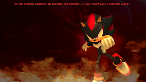 Shadow Sonic 06 background by infersaime
