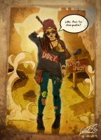 Hipster from the wasteland by kendal316