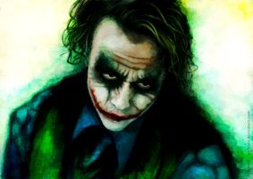 Why So Serious ? by Polkhra