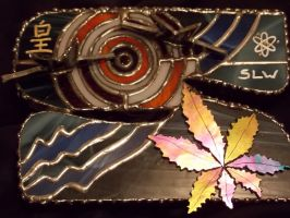 Custom Stained Glass Box for Sabby 3D 2 by whsprluv69