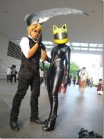 Drrr: Celty and Shizuo by 2akakage2