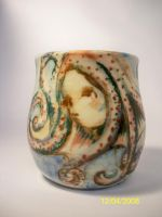 Octopus cup no 2 by trickypink
