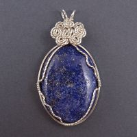 Lapis and Sterling Silver by sylva